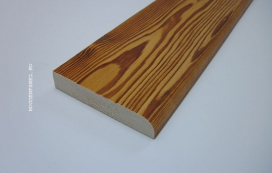 Деревянный текстурированный плинтус