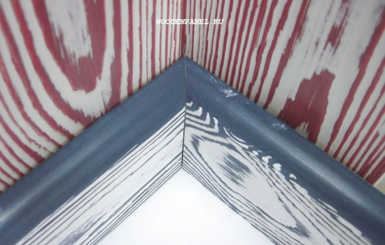 Текстурированный плинтус